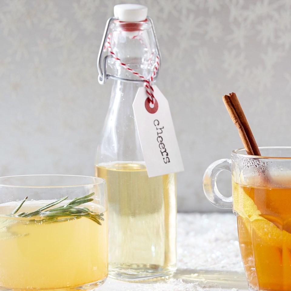 Sugar-Free Rosemary Simple Syrup