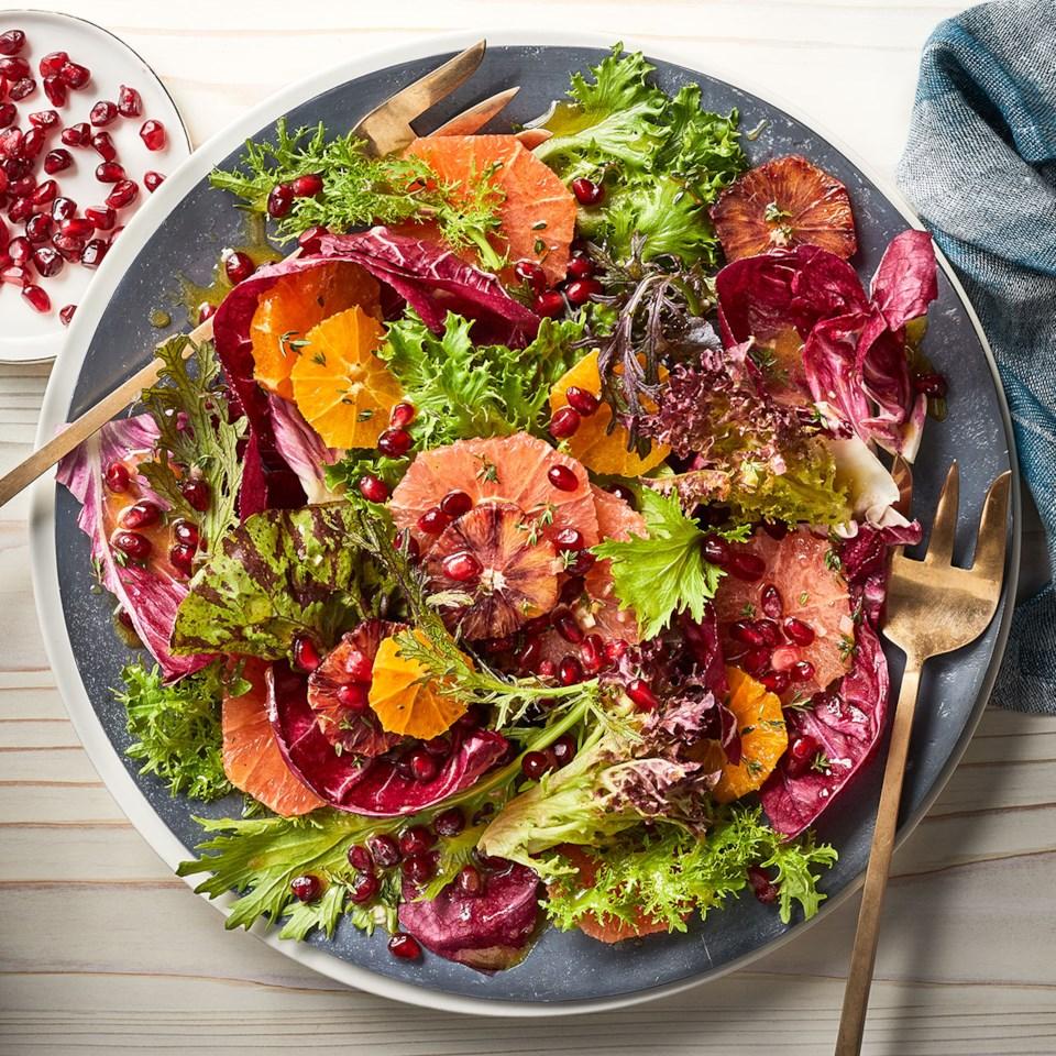 Mixed Greens & Citrus Salad