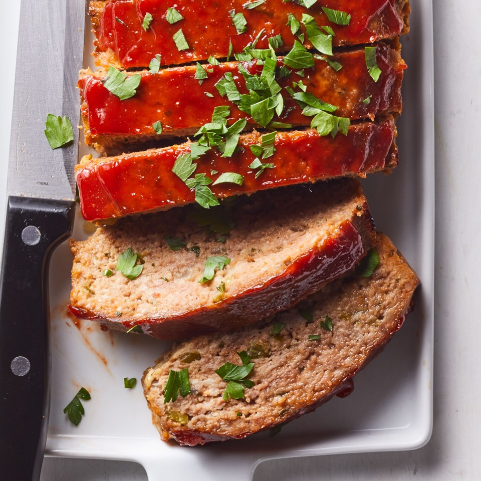 Sausage-Spiked Meatloaves Recipe