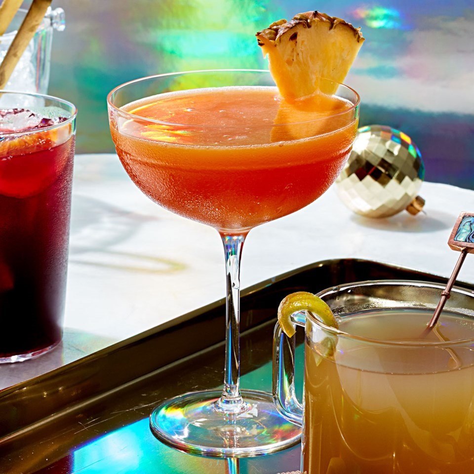Festive Brunch Mezcal Cocktail Recipe