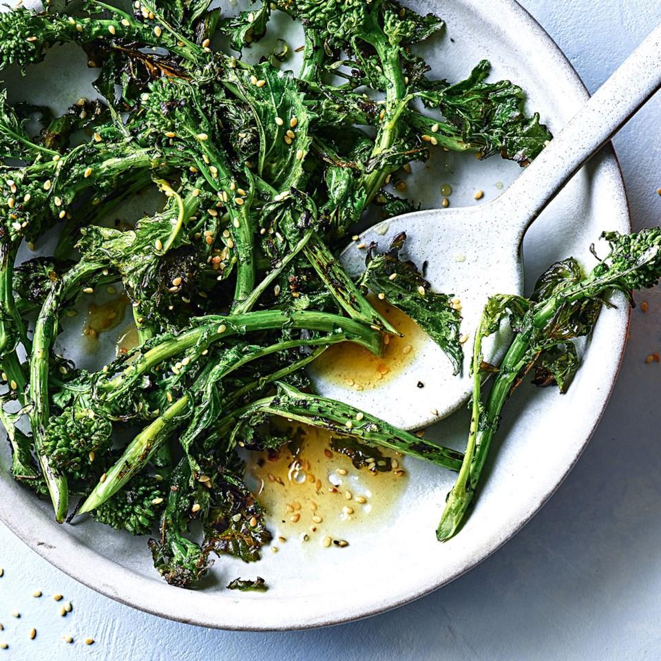 Broccoli Rabe with Orange & Sesame