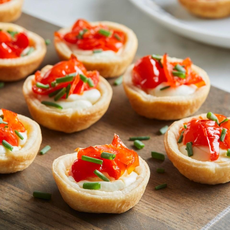 3-Ingredient Cream Cheese & Cherry Pepper Bites
