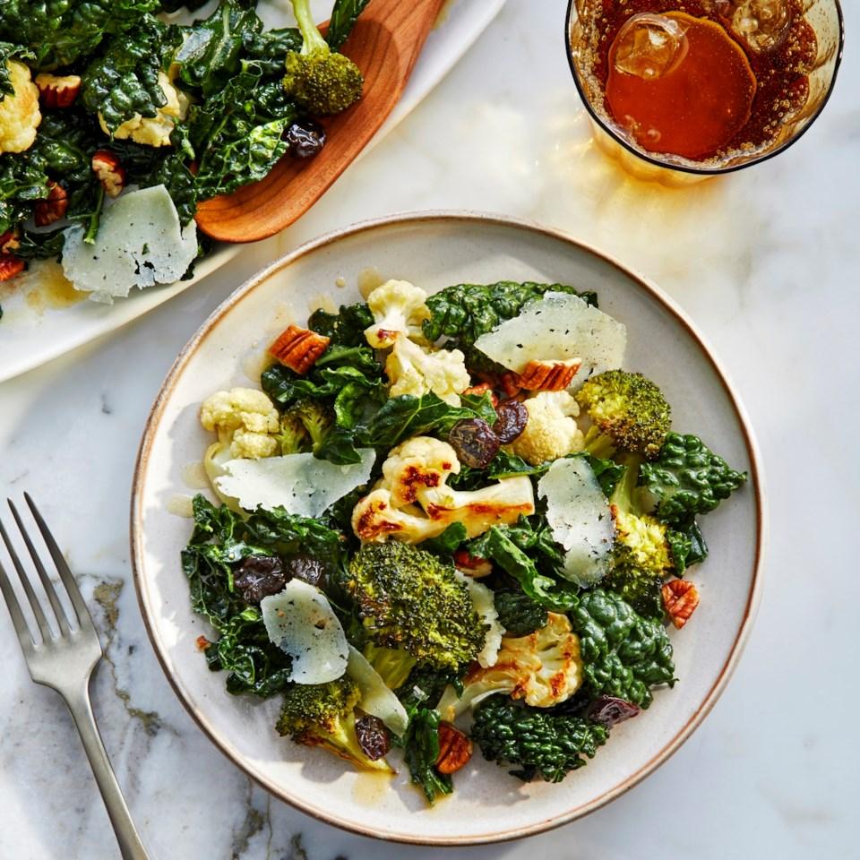 Broccoli & Cauliflower Salad Recipe