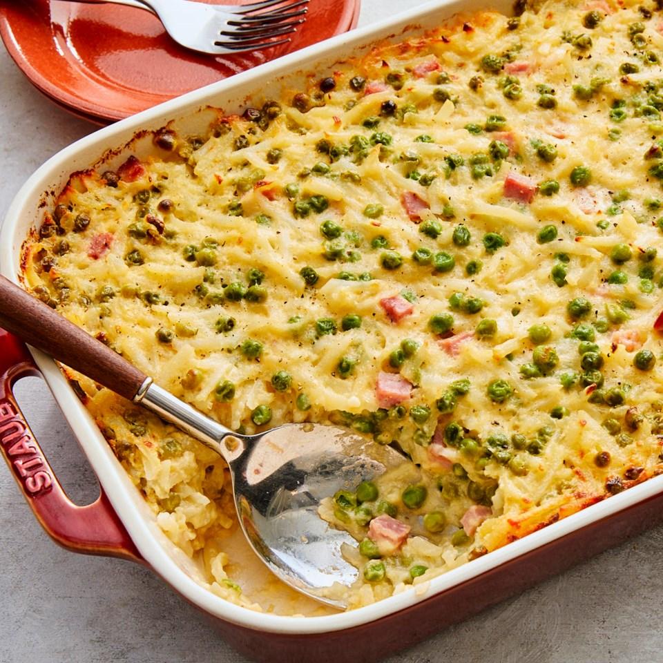 Ham & Potato Casserole Recipe