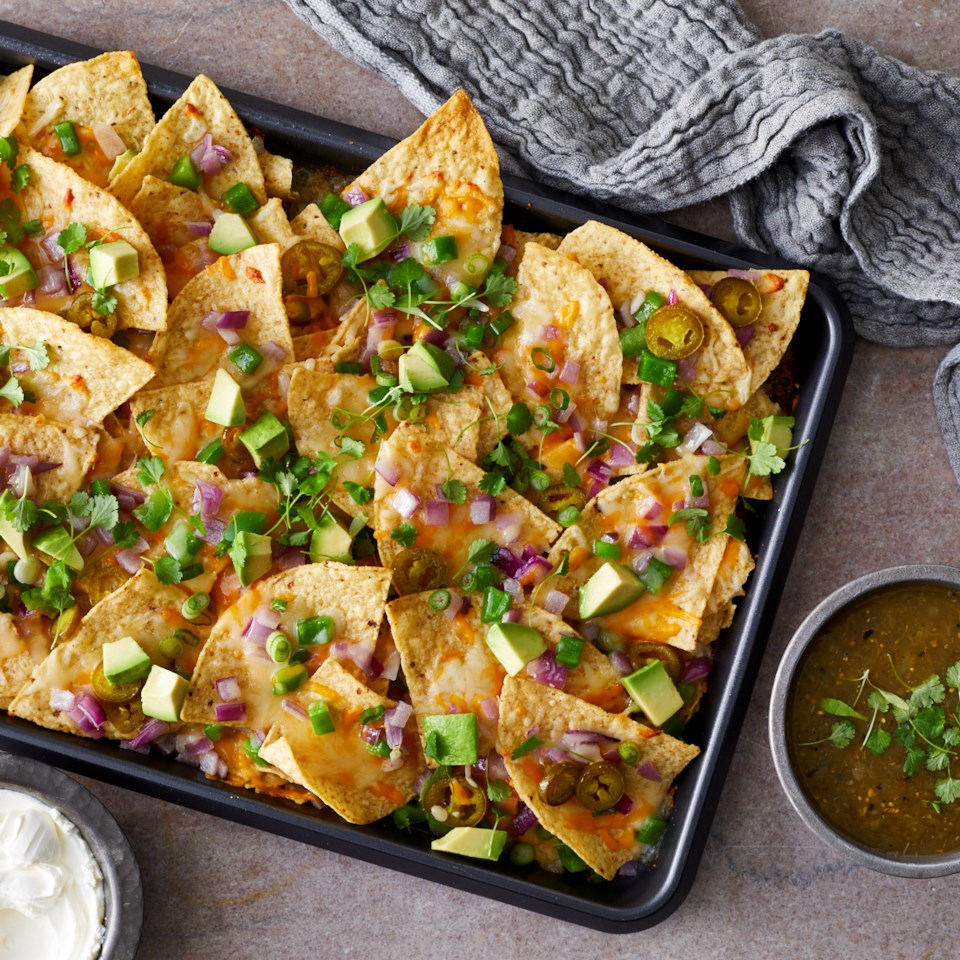 Loaded Sheet-Pan Nachos Recipe