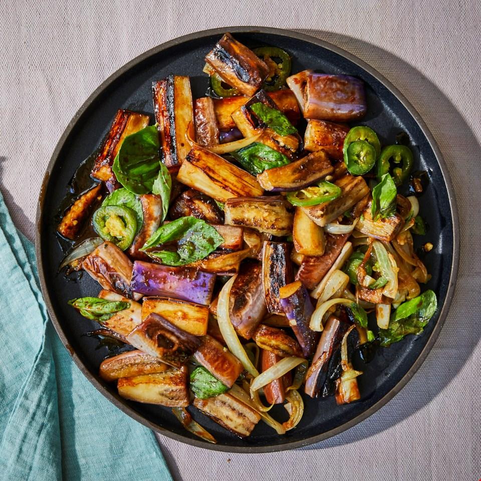 Easy Eggplant Stir-Fry Recipe