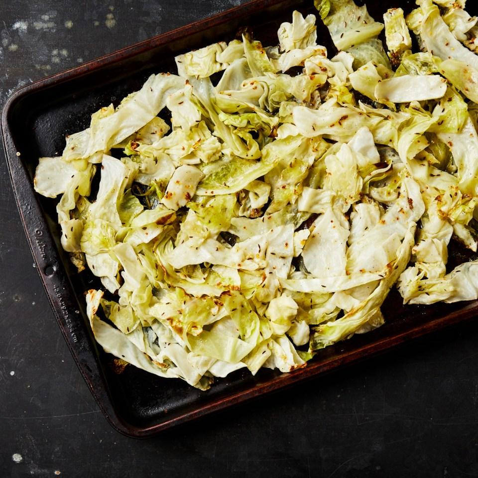 Honey-Mustard Roasted Cabbage Recipe