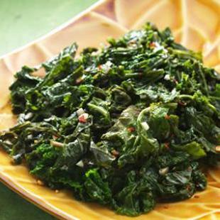 Basic Saut?ed Kale