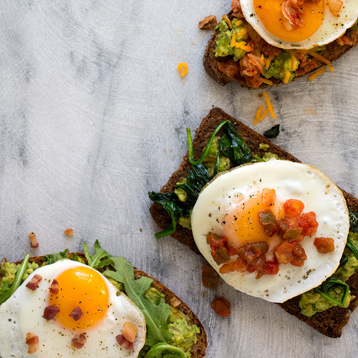 Next-Level Avocado Toast? Put an Egg On It