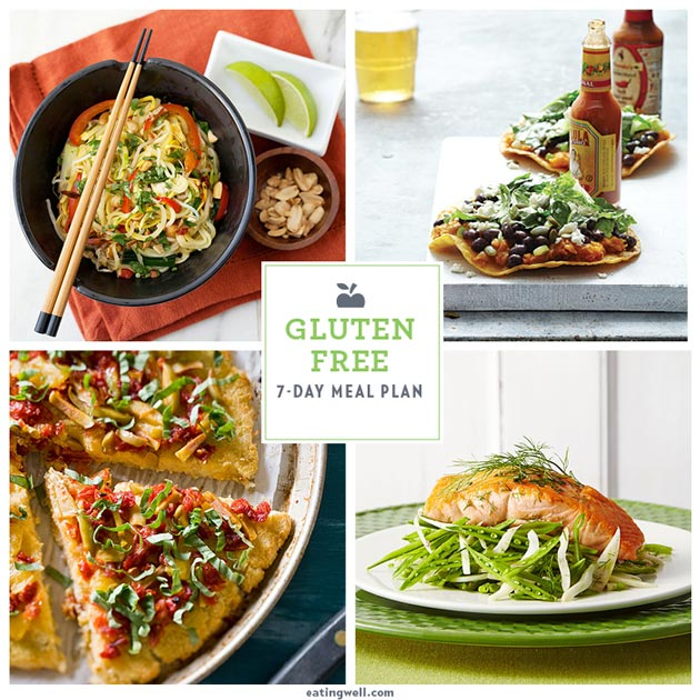 7 Days of Gluten-Free Dinners
