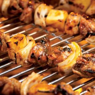 Carribean Kebabs
