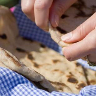 Parmesan Skillet Flatbreads