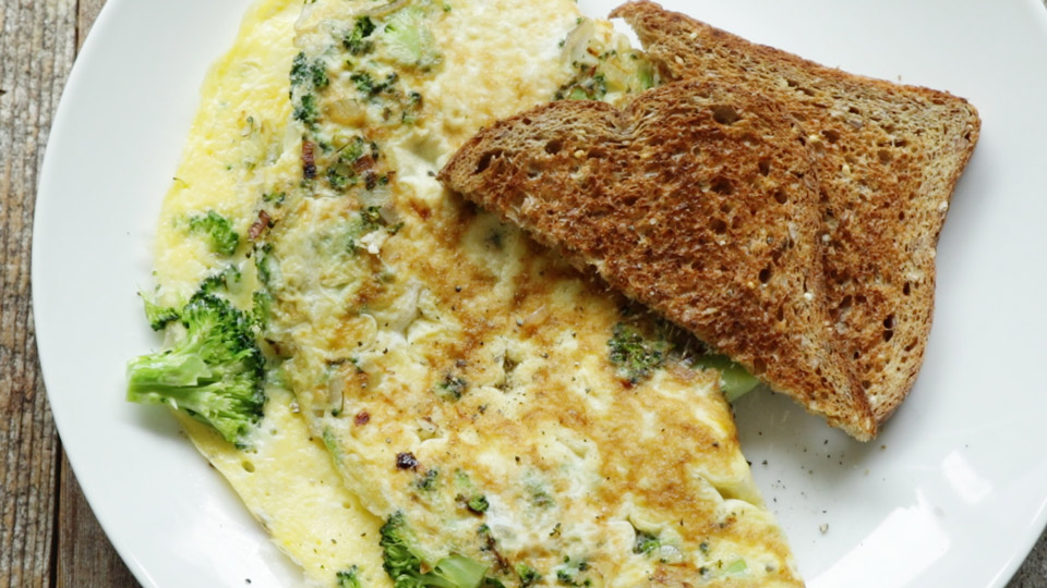 High Protein Breakfast Omelet