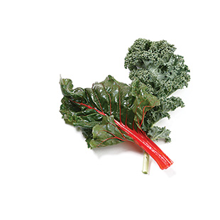 Chard, Kale & Spinach