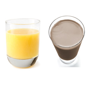 Is Low-Fat Chocolate Milk or 100% Fruit Juice a Healthier Drink? -  EatingWell