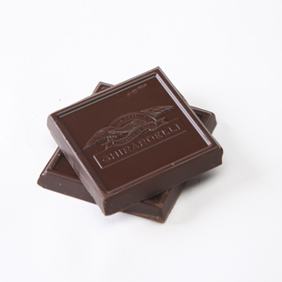 8 p.m. Indulge in a few squares of dark chocolate.