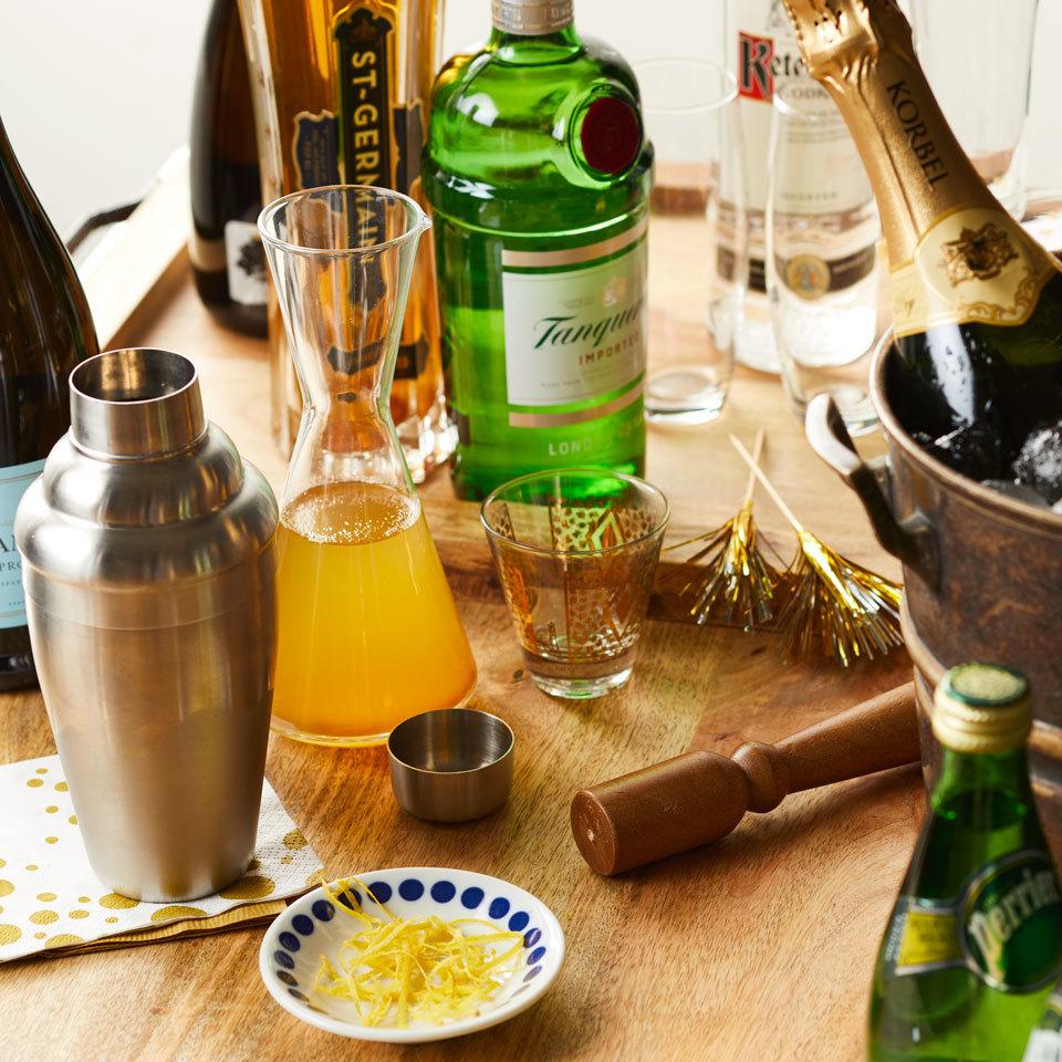Champagne Cocktail Bar