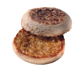 Swap A Hamburger Bun For An English Muffin