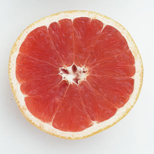 One serving of grapefruit