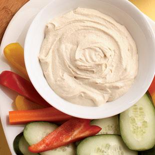 10. Spread Hummus