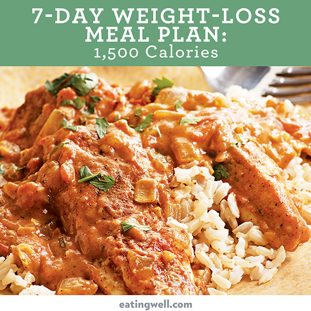 7 day diet meal plan to lose weight 1500 calories eatingwell this 1500 calorie meal plan is designed by eatingwells registered dietitians and culinary experts to offer healthy and delicious meals for weight loss forumfinder Gallery