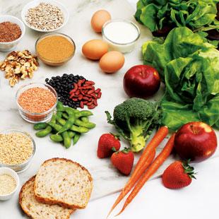 6 Staples of a Vegetarian Diet