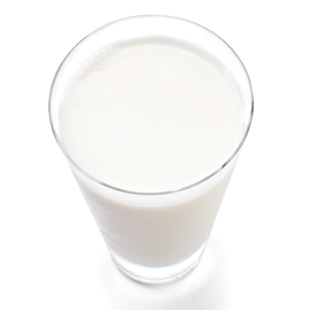2. Replace whole milk with low-fat milk to cut down on fat and calories.
