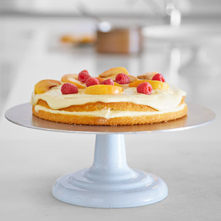 Tip 2 for successful Raspberry-Peach Trifle Cake