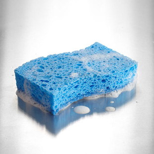 Sanitize Your Kitchen Sponge