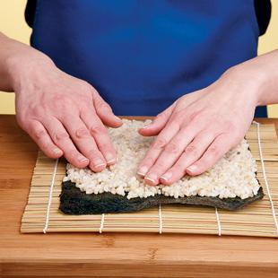 Sushi Technique - Step 1