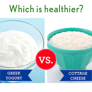 is cottage cheese or greek yogurt a healthier high protein snack rh eatingwell com high protein cottage cheese breakfast high protein cottage cheese muffins