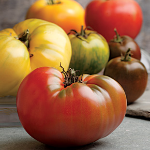 8. Heirloom Tomatoes
