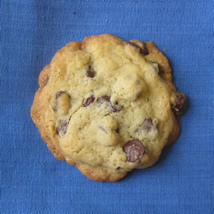 Raw Sugar Chocolate Chip Cookie