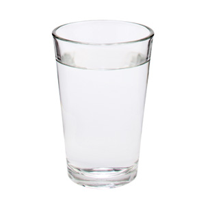 You need 8 glasses of water a day to avoid dehydration