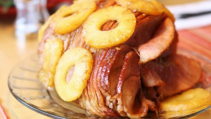 Tips Tricks Tangy Honey Glazed Ham