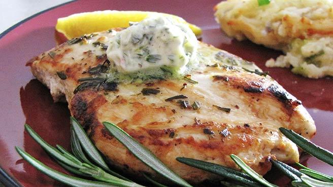 Rosemary Lemon Grilled Chicken