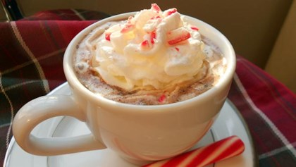 Tips & Tricks Candy Cane Cocoa