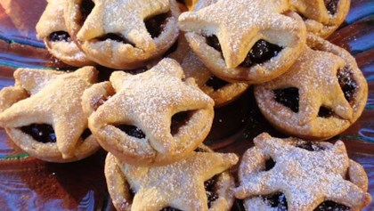 mini orange mince pies - Christmas Pies