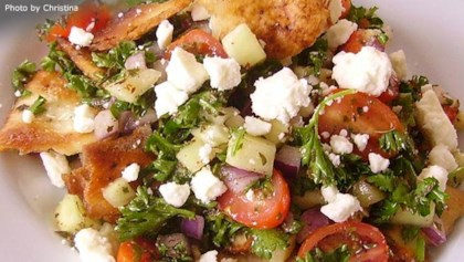 Middle eastern recipes allrecipes tips tricks arabic fattoush salad forumfinder Choice Image