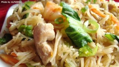 tips tricks pork and shrimp pancit