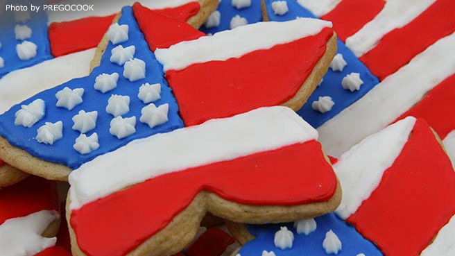 Memorial Day Desserts American Flag Cake Raspberry Blueberry And Cake