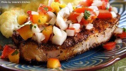 Low sodium main dish recipes allrecipes inspiration and ideas tips tricks grilled pork chops with fresh nectarine salsa forumfinder Choice Image