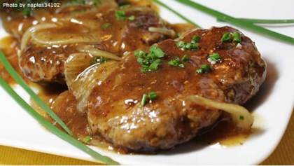 Comfort food recipes allrecipes tips tricks hamburger steak with onions and gravy forumfinder Images