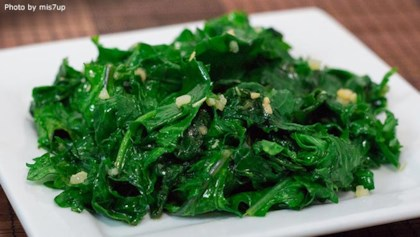 Kale recipes allrecipes inspiration and ideas tips tricks easy garlic kale forumfinder Gallery