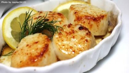recipe: baked scallops florentine [16]