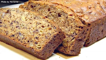 Banana bread recipes allrecipes tips tricks browned butter banana bread forumfinder Image collections