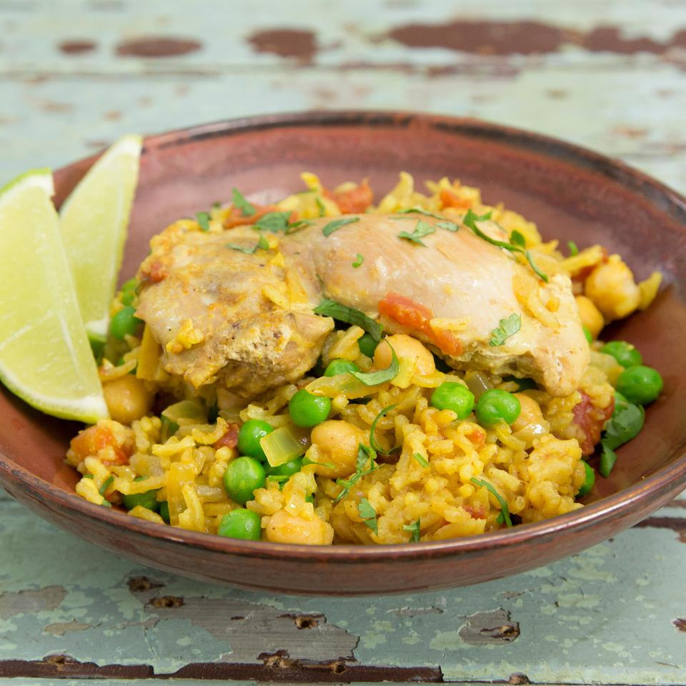 Healthy Chicken & Rice Recipes
