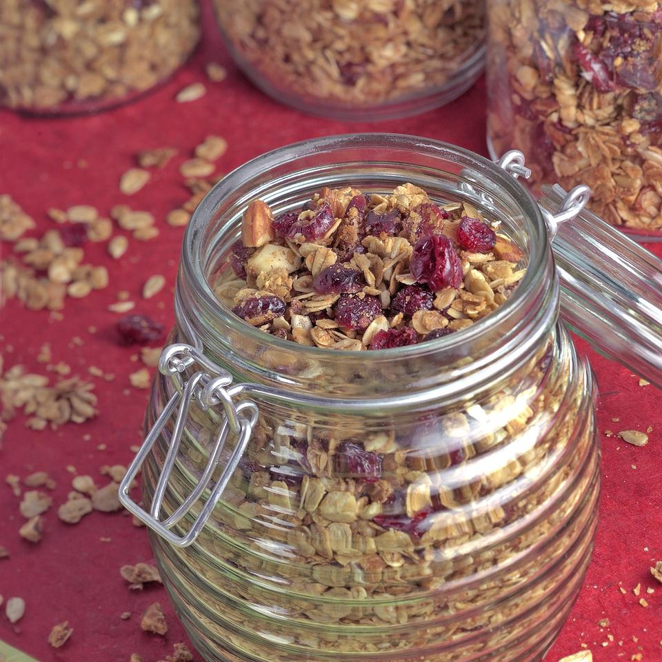 Healthy Granola & Muesli Recipes