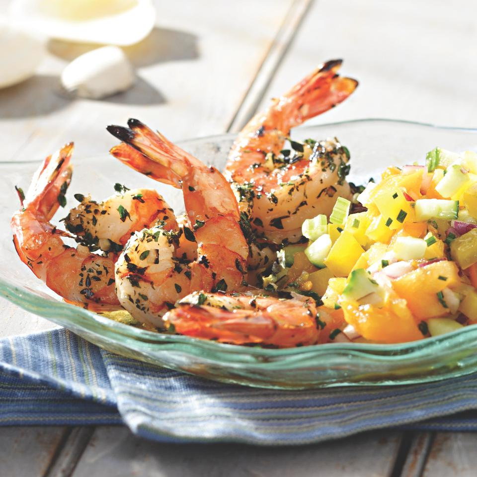 Healthy Grilled & BBQ Shrimp Recipes