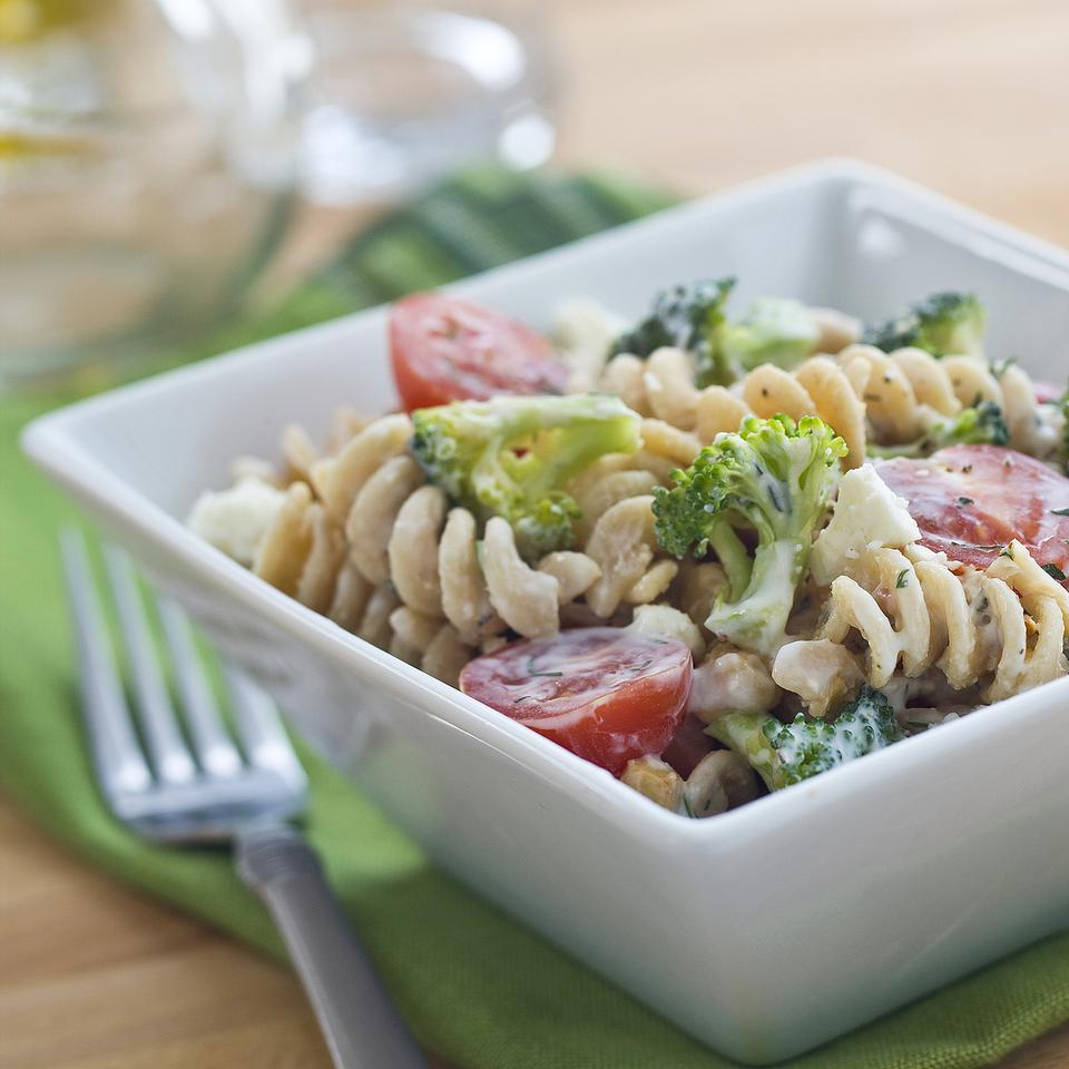 Healthy Vegetarian Pasta Salad Recipes